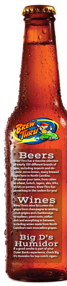 Brew Thru Beer For Sale