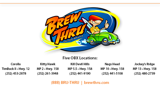 Brew Thru Outer Banks Logo