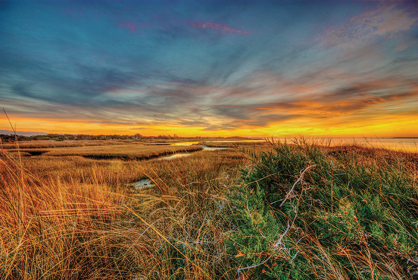 Hatteras Village Beach Sunset