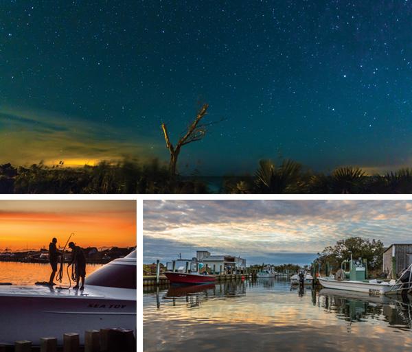 Hatteras Village Night Sky