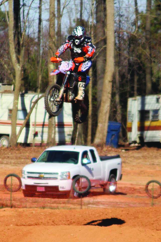 Corolla Bob on Dirtbike