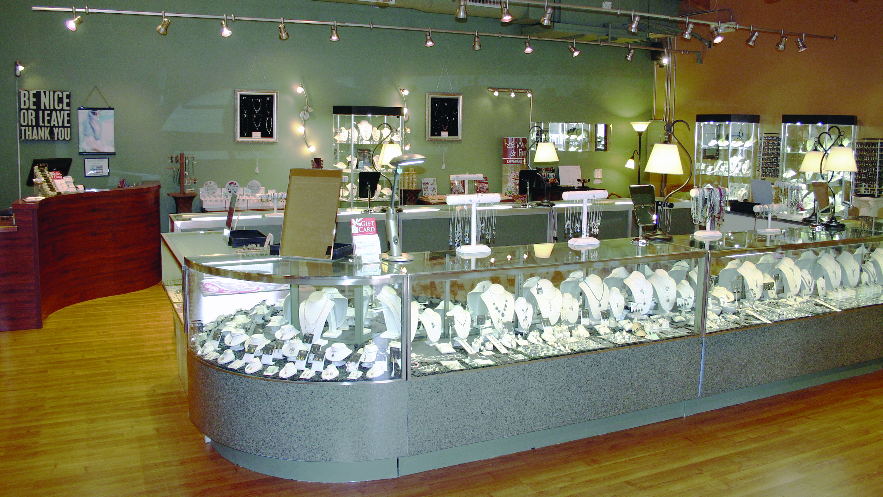 Mystic Jewel Store Interior
