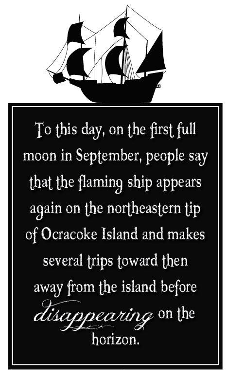 The Burning Ship of Ocracoke