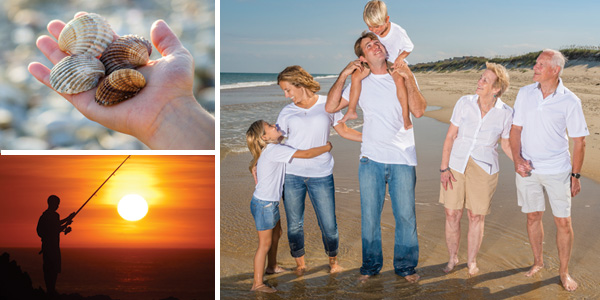 Corolla Currituck County Thanks Giving Holidays Outer Banks fishing surfing family portraits