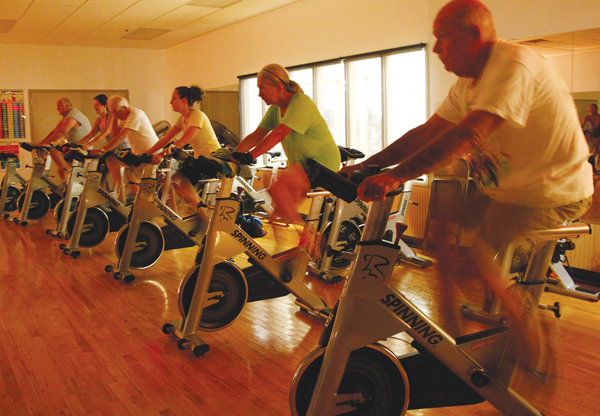 Outer Banks Family YMCA spin class Nags Head