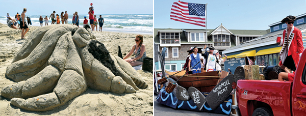 Ocracoke July 4th - Sand Sculpting