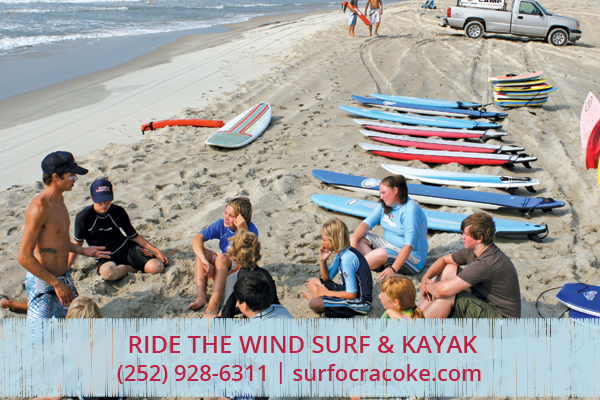 Ride the Wind Surf Lesson - Ocracoke
