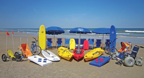 Just For The Beach Rentals - Beach Equipment