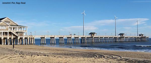 Jenette's Pier, Nags Head, Windmills
