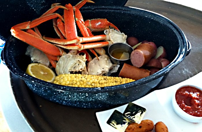 Seafood Boil at Open Water Grill