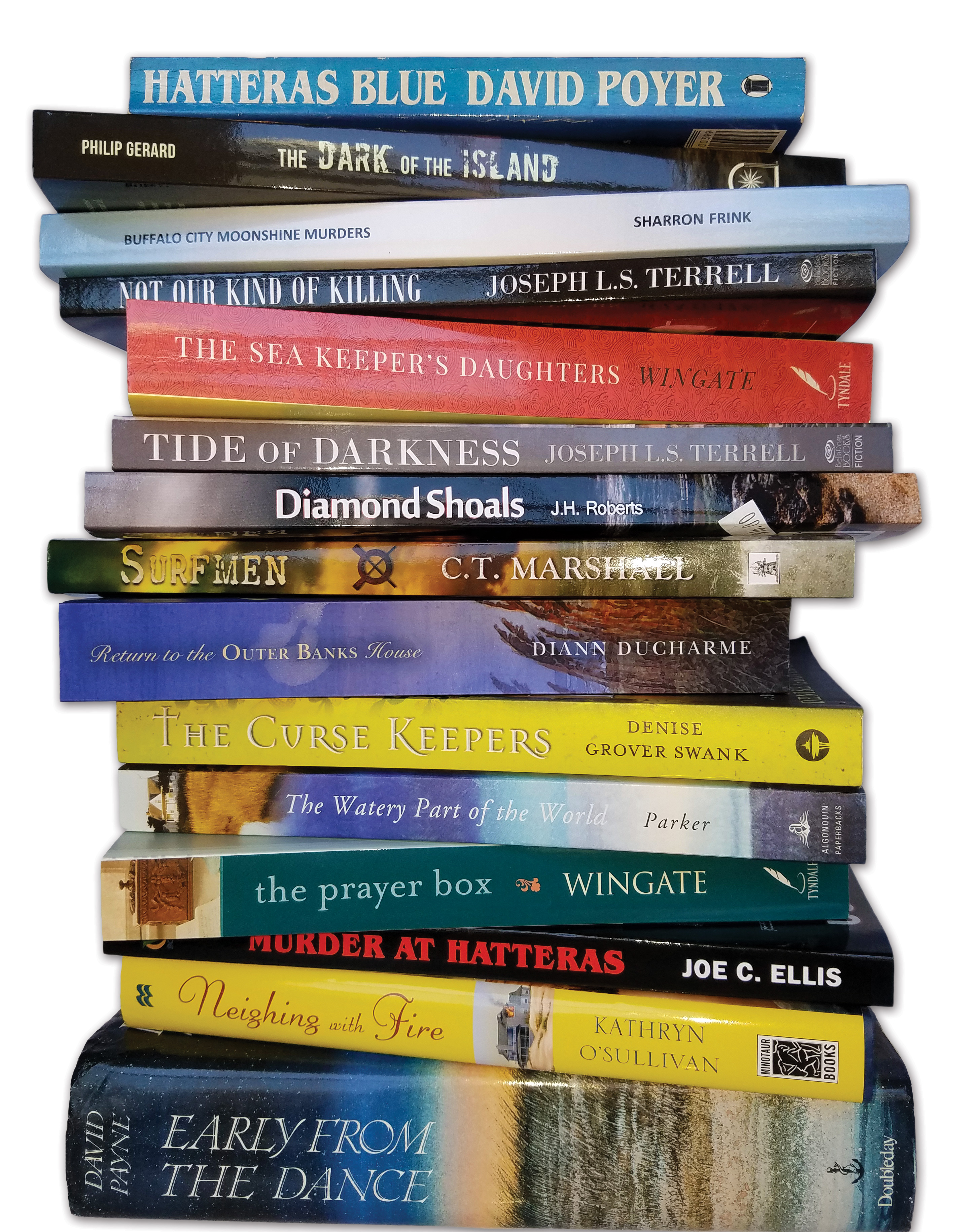 books set on the outer banks