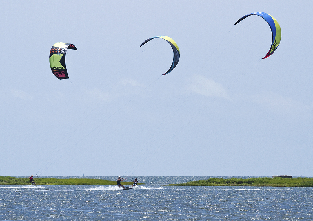 Kiteboarding on Hatteras Island NC