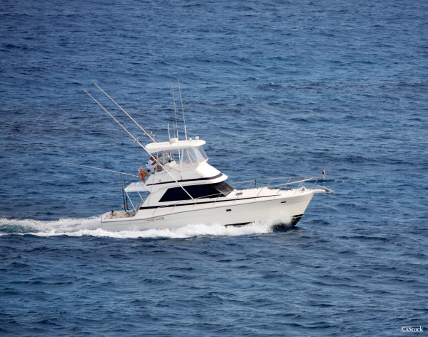 Outer Banks Charter Fishing Boat