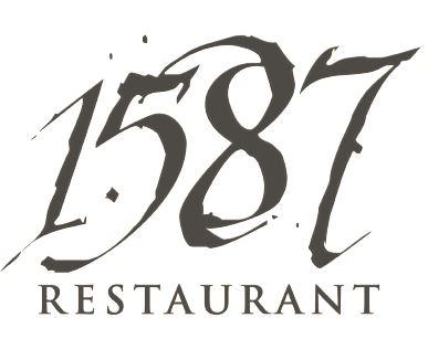 1587 Restaurant Logo