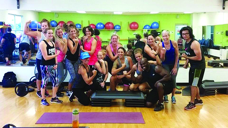 Outer Banks YMCA fitness class