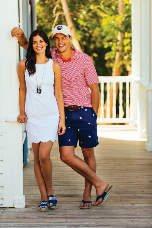 Southern Tide clothing line at The Cotton Gin