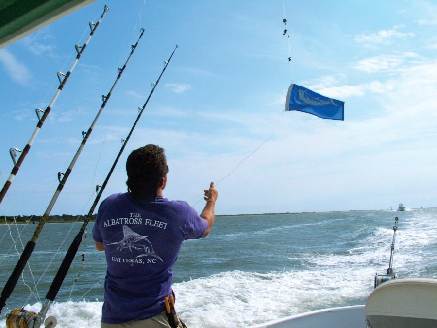 An Albatross Fleet charter boat returns to Hatteras