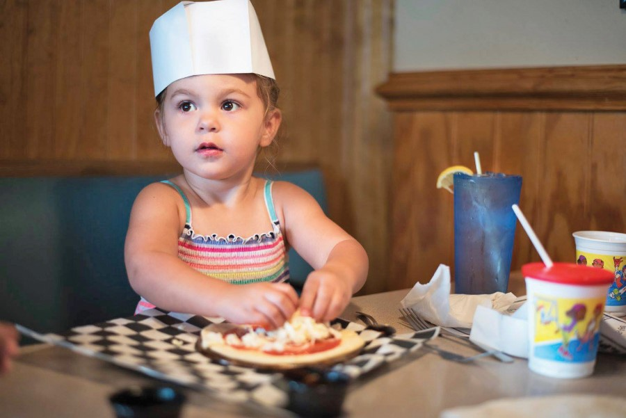 Every Tuesday is Kids Day at Tomato Patch Pizzeria in Corolla