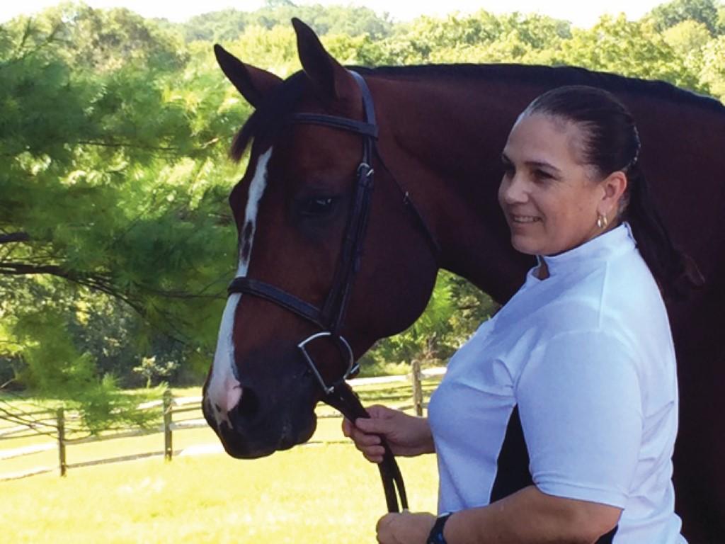 Linda Adkins, Executive Director of the Corolla Wild Horse Fund
