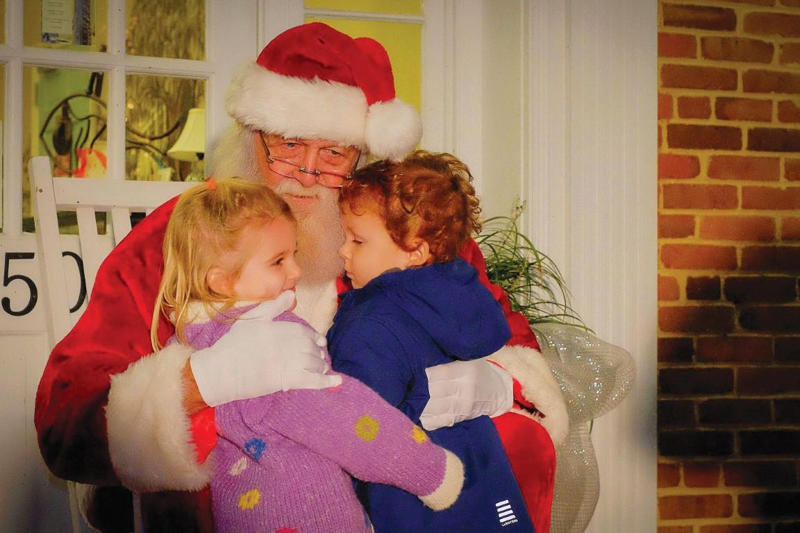 Edenton Christmas Parade with Santa