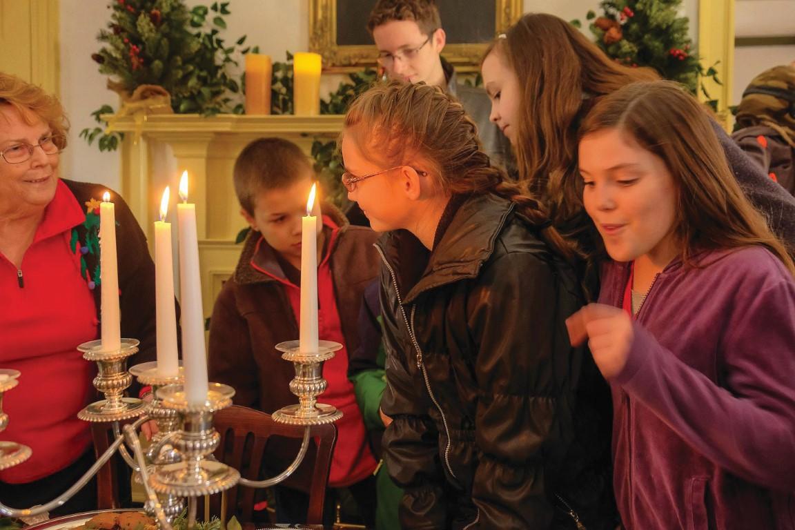Christmas Caroling in Edenton