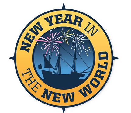 New Year in the New World Logo
