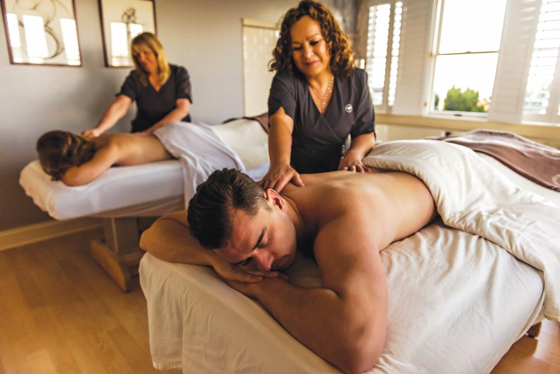 Couples massage at Sanderling Resort in Duck NC