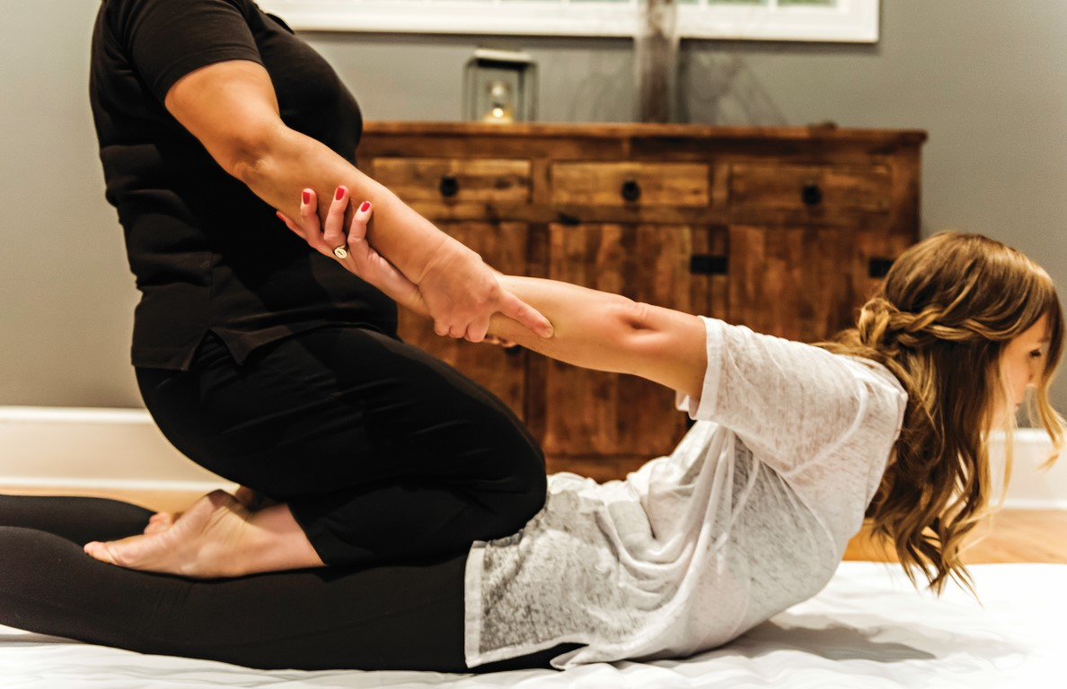 Thai yoga is offered at Sanderling Resort in Duck NC