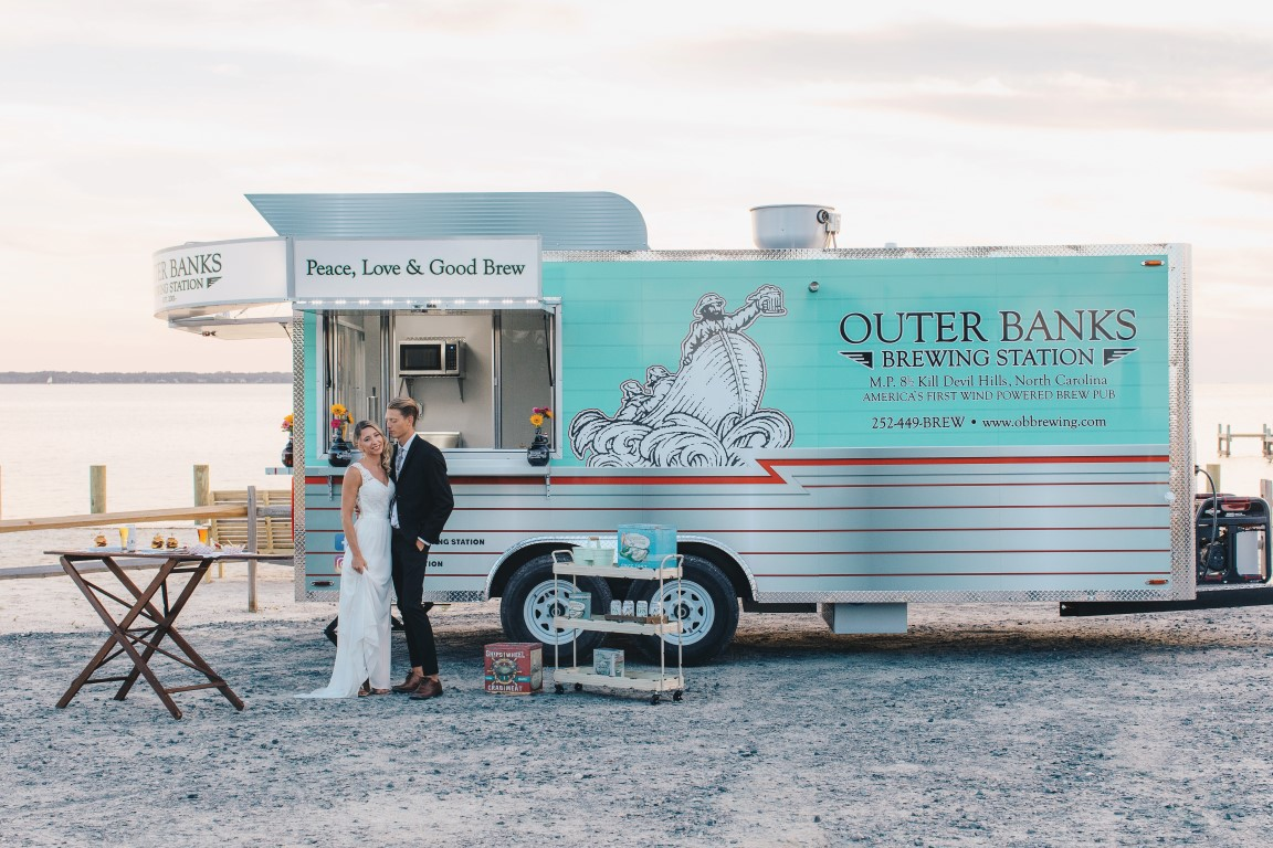 Outer Banks Brewing Station event trailer