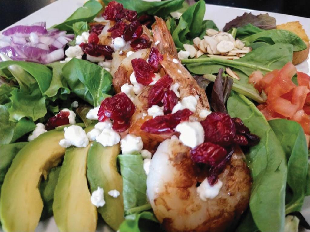 Ike's Bite's salad