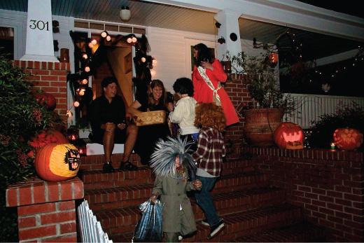 Halloween in Manteo NC