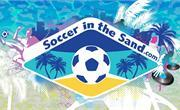 Soccer in the Sand at Jennettes Pier Nags Head NC