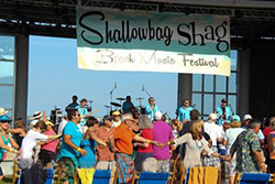 Shallowbag Bay Beach Music Festival on Roanoke Island NC