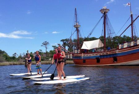 SUPtastic Event at Roanoke Island, Manteo NC