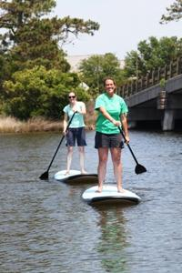 Paddle Tours at Jennette's Pier