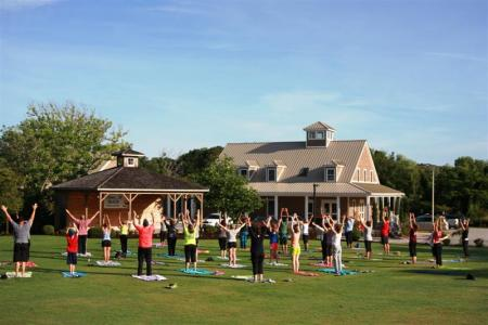 Yoga on the Green