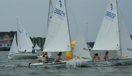 One-Design Sailboat Regatta