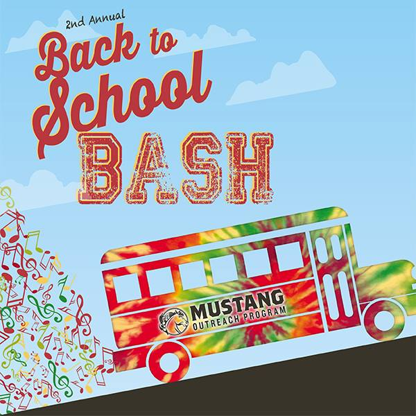 Mustang Outreach Program Back to School Bash