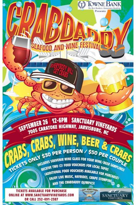 Crabdaddy Wine and Seafood Festival