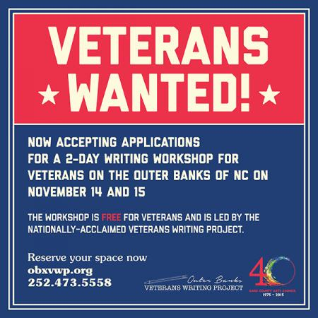 Outer Banks Veterans Writing Project