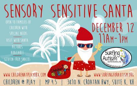 Sensory Sensitive Santa