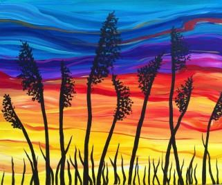 Painting from the Outer Banks Brewing Station's Painting Party