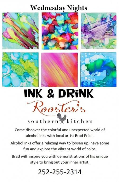 Ink & Drink with Brad Price