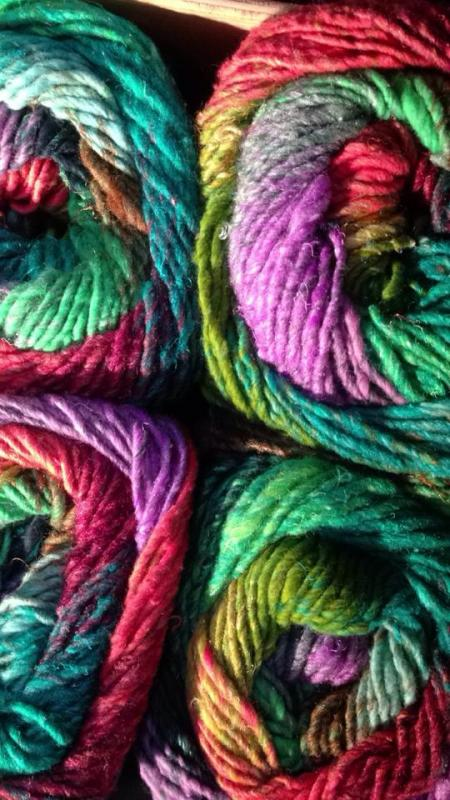 Yarn and Fiber Art at Blue Pelican Gallery