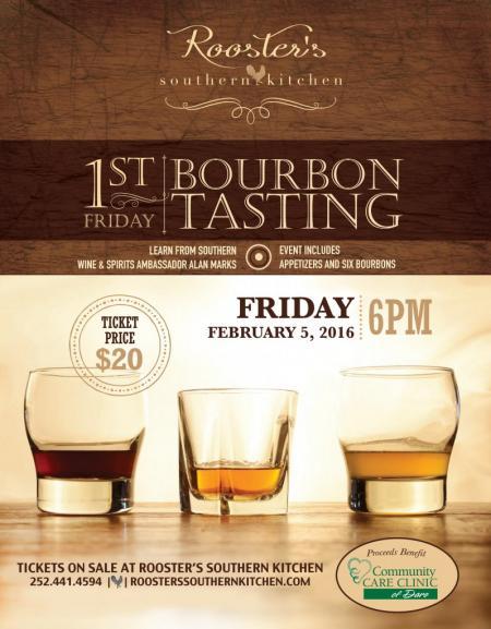 Rooster's 1st Friday Bourbon Tasting