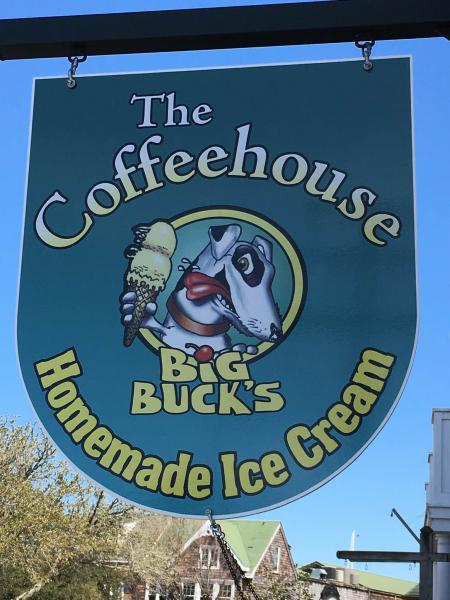 Grand Opening at The Coffeehouse Big Buck's – Ice Cream