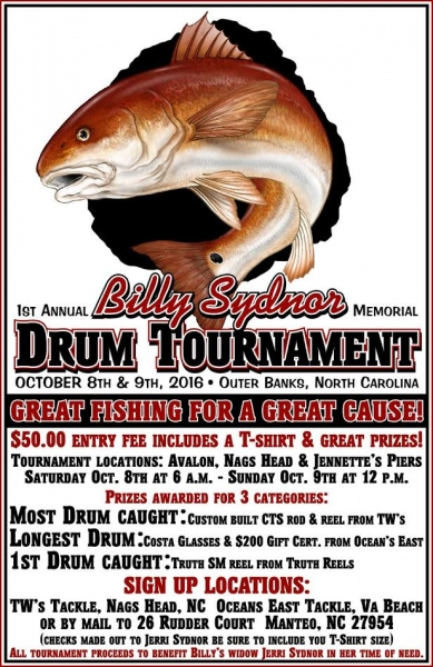 Billy Sydnor Memorial Drum Tournament