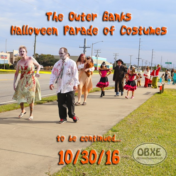 Kelly's Outer Banks Halloween Parade of Costumes