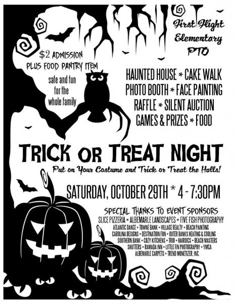 Trick or Treat Night Fundraiser
