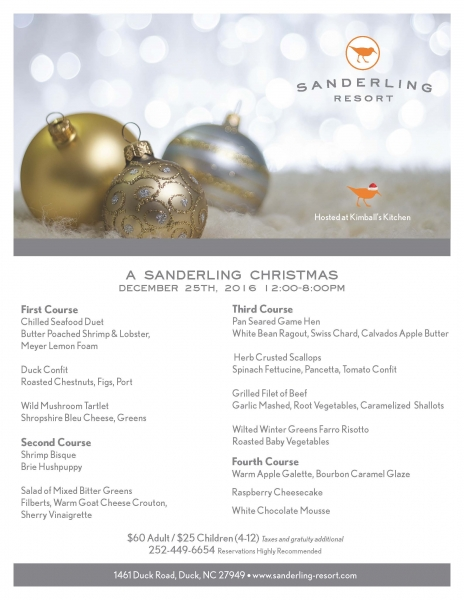 A Sanderling Christmas